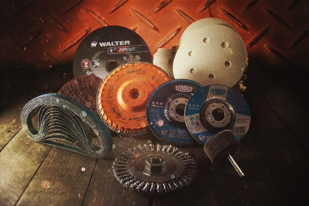 Abrasives at Red Deer Fasteners