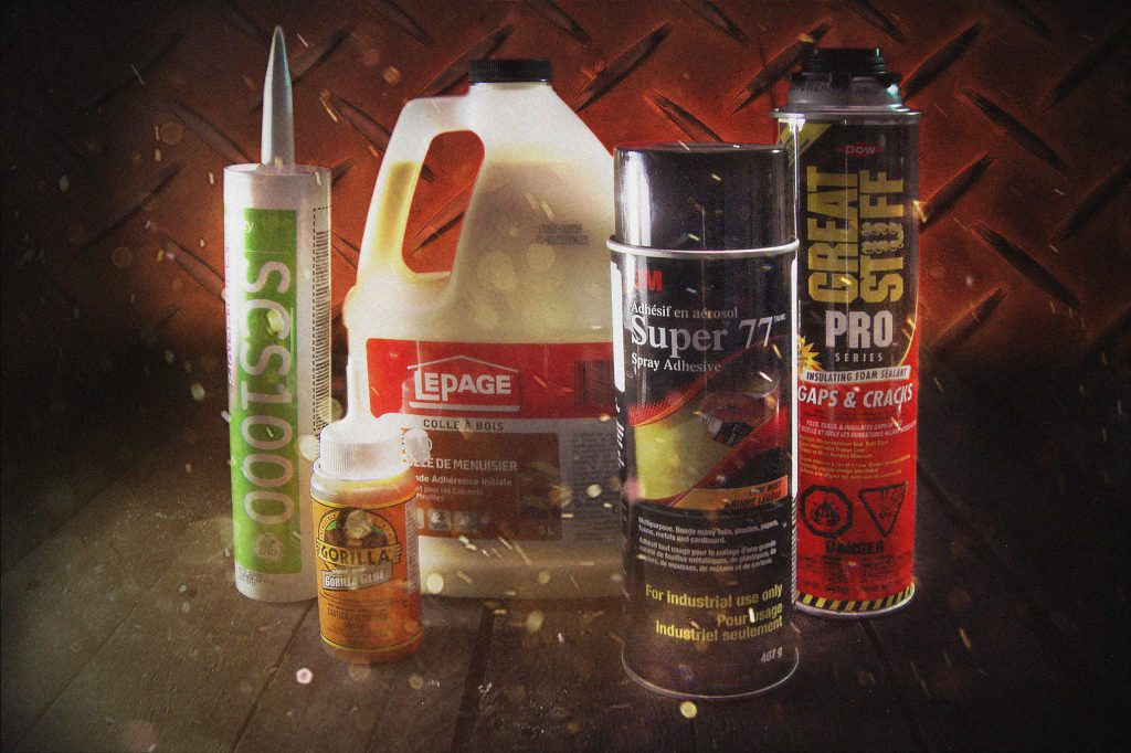 Adhesives at Red Deer Fasteners