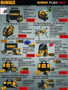 Red Deer April DeWALT Flyer