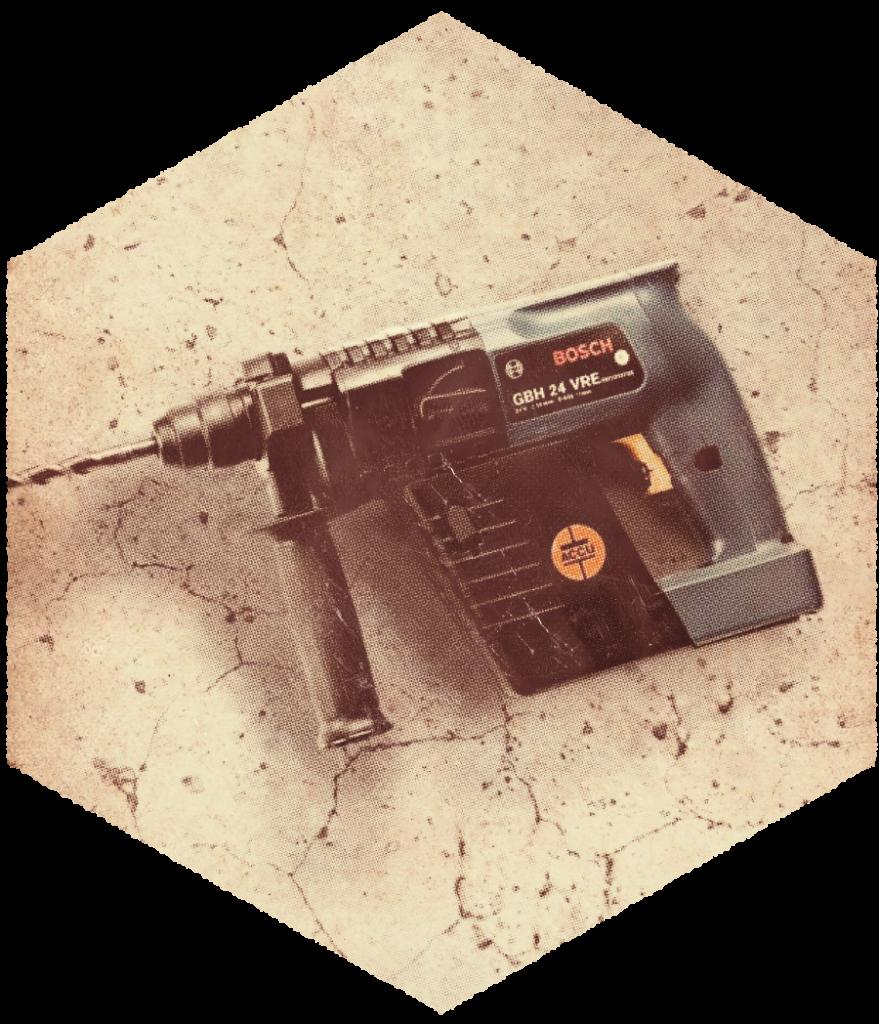 Bosch's First Cordless Hammer!